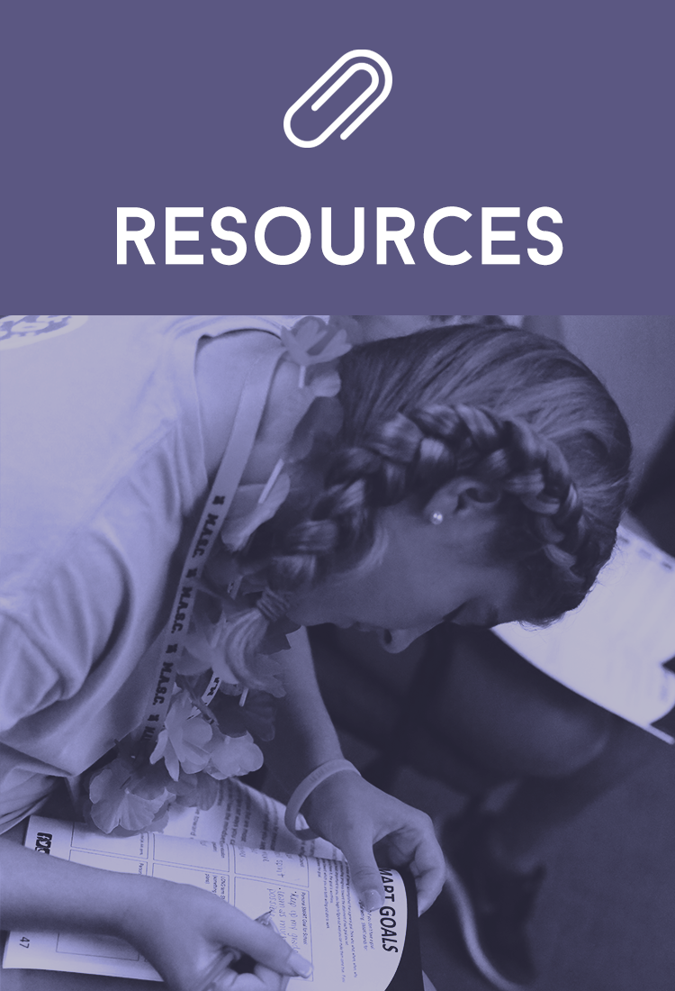 Resources Block Front Page