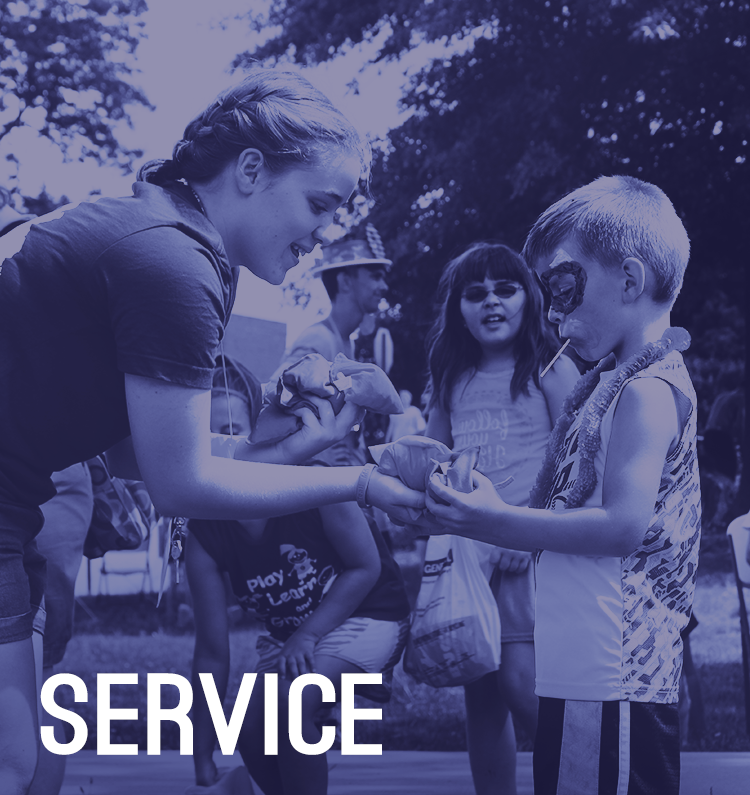 Service Block Front Page color